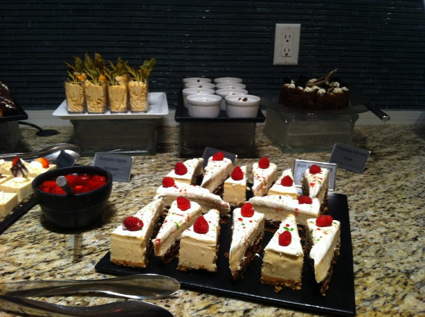 Mayfield Dinner Theatre Dessert Station