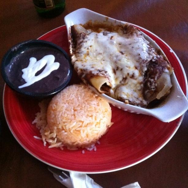 Cafe del Sol Chicken Enchilada