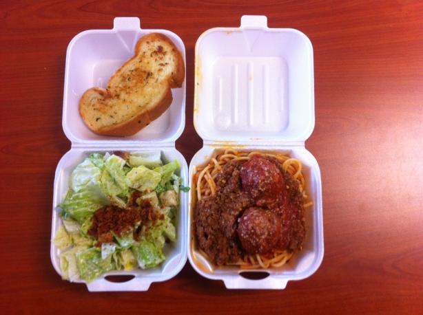 Spaghetti and Meat Sauce Little Italy Pasta