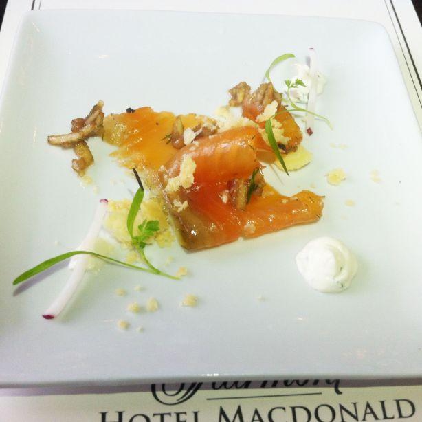 Fairmont Hote Macdonald - Salmon Lox