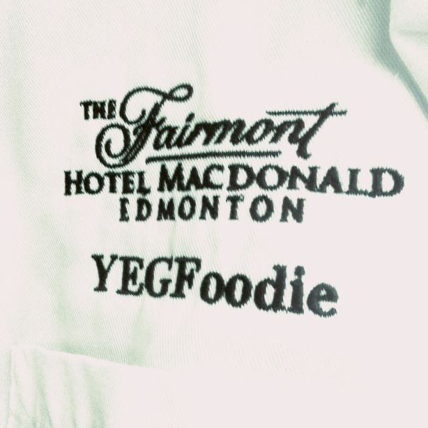 Fairmont Hotel Macdonald Chef Jacket