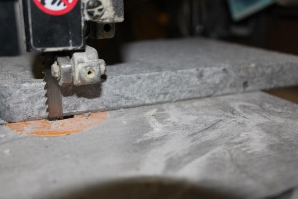 Brazilian Ice - Trimming Grill Stone