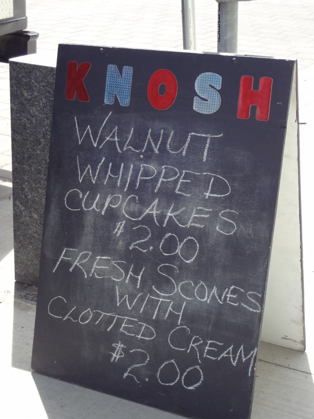 Knosh Sandwich Board